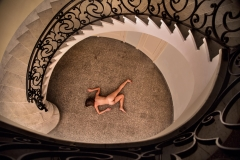 Alejandra Glez. Sin título, Serie: La cabeza es el nuevo desnudo