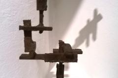 <strong> Amadeo Gabino </strong> CONSTRUCCIONES, 41 x 13,5 x 12,5 cm, Hierro.