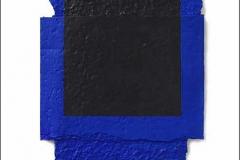 Rafael Canogar, Vuelo, 60 x 60 cm, fragmentaciones, 2005
