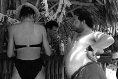 Colita. Turistas en Varadero. Cuba, 1944
