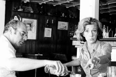 Colita. Jaime Gil de Biedma y Ana María Matute. Sitges, 1972