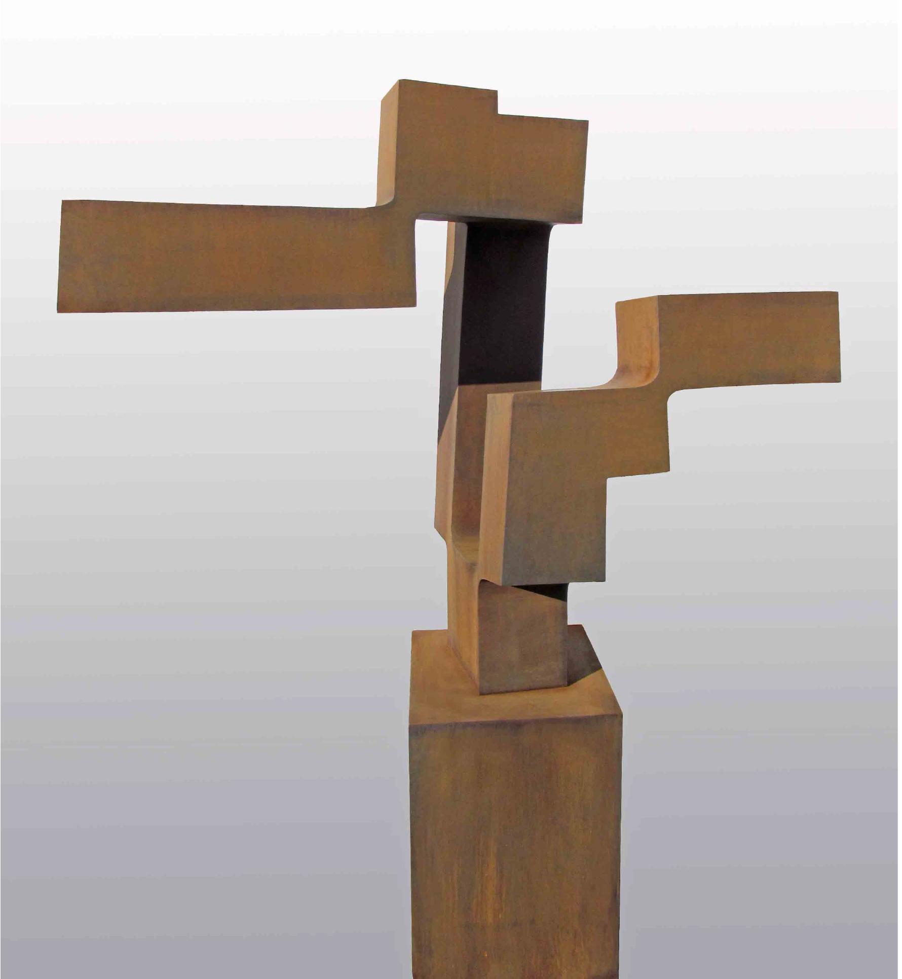 <strong> Carlos Albert</strong> Light, 146 x 117 x 46cm Acero Corten Pieza Unica, año 2014