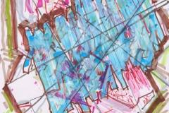 ST_Dibujo-3_29,7-x-21-cm_mixta-sobre-papel_2020_Luis-Gordillo_CD2062