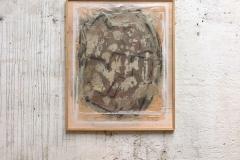 <strong>Mariano Matarranz</strong> SIN TÍTULO, 122 x 100 cm, Mixta sobre papel japonés, Año 2015 - 2016