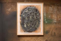 <strong>Mariano Matarranz</strong> SIN TÍTULO, 122 x 100 cm, Mixta sobre papel japonés, Año 2015-2016