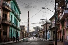 José-María-Mellado_Calle-cuba-y-chimenea_110x147cm