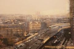 Alejandro Quincoces. Autopista en Hang Zhou con sol
