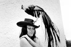 Colita. Elsa y el Gallo. 1969