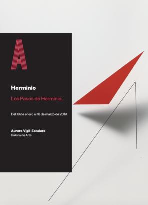 Portada Los pasos de Herminio...